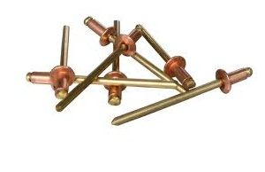 POP RIVET COPPER 4-4 PKT100-0